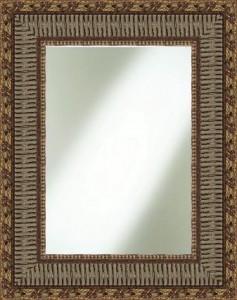 Breiter vergoldeter Spiegelbilderahmen